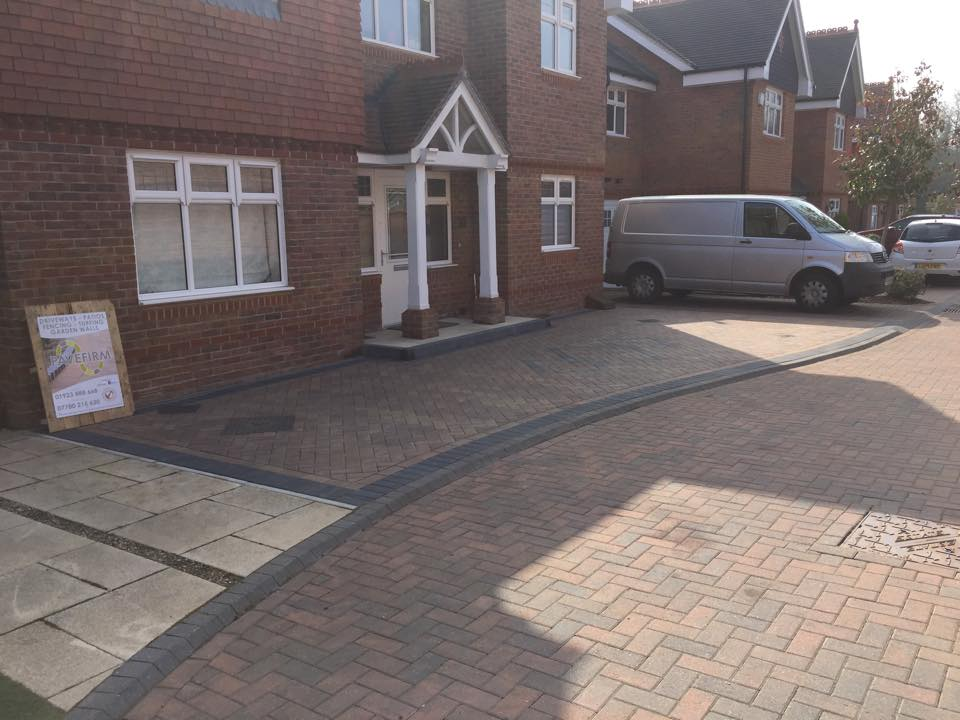Block paving driveway company St Albans